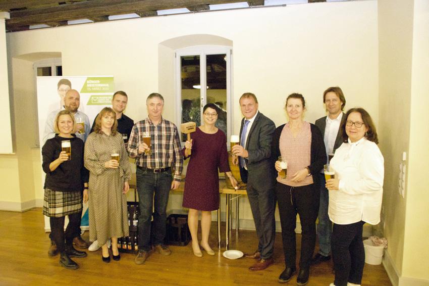 Weihnachtsfeier mit Jahresabschluss der CSU in Kürnach