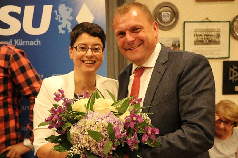 100 % für Susanne John in Kürnach