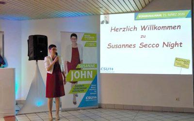 Susannes Secco-Night am 31.01.2020