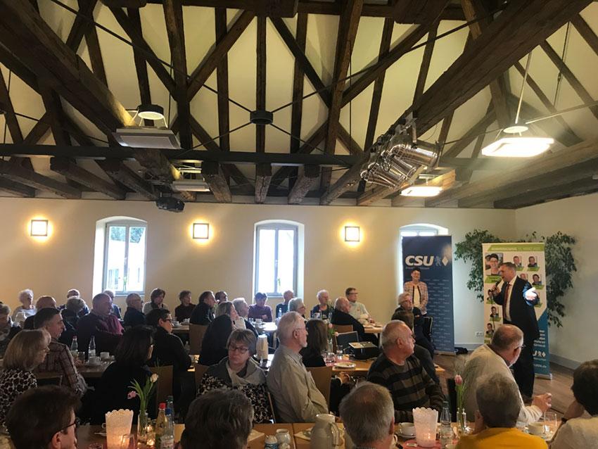 CSU-Seniorennachmittag in Kürnach